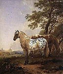 BERCHEM Nicolaes Landscape With Two Horses.jpg