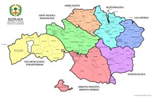 Mapa De Vizcaya Costa.Vizcaya Wikipedia La Enciclopedia Libre