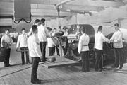 BL 9.2 inch gun training circa 1896