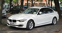 BMW 316i (F30) registered May 2013 1598cc 02.JPG