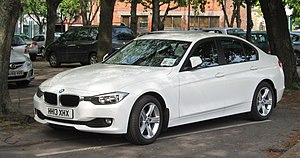 BMW 3 Series - Image: BMW 316i (F30) registered May 2013 1598cc 02