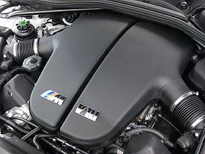 BMW S85 - Image: BMW S85B50 Engine