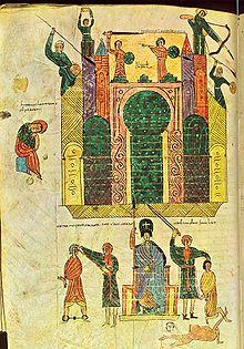 Beatus d urgell f 176 208v si 232 ge de j 233 rusalem par nabuchodonosor