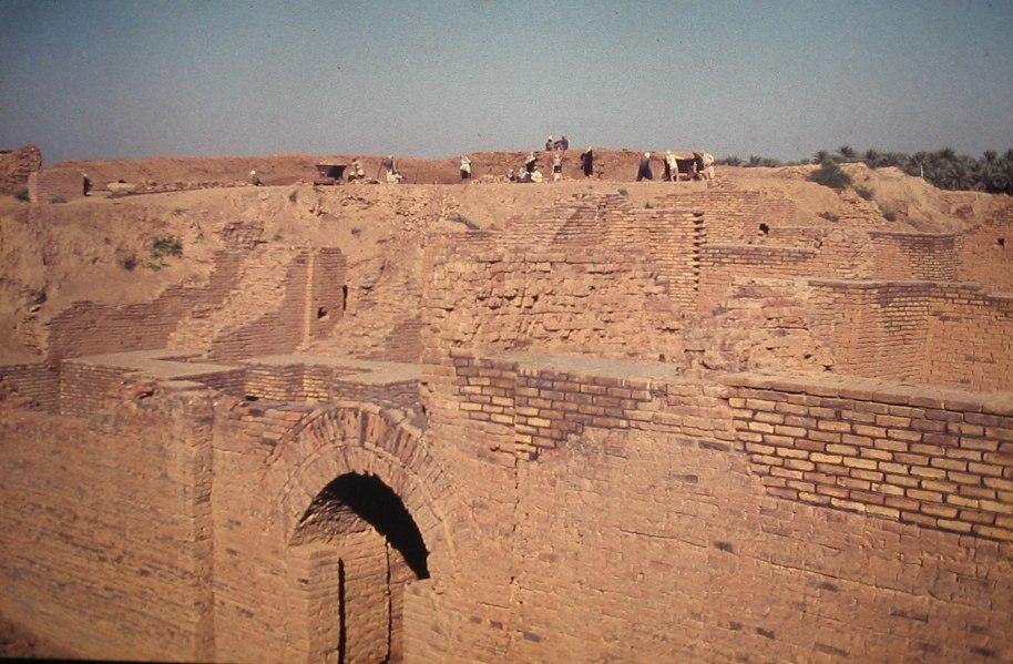 Babylon ausgrabungen