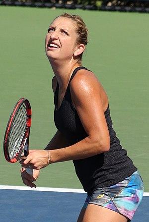 Timea Bacsinszky - Bacsinszky in 2016 US Open