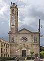 Badalona - Església de Santa Maria i catifa de Corpus.jpg