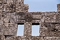 Bafetin (بافتين), Syria - Detail of wall with window of unidentified structure - PHBZ024 2016 4555 - Dumbarton Oaks.jpg