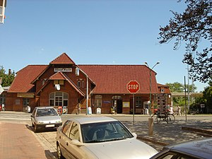 Wismar station - Image: Bahnhof wismar