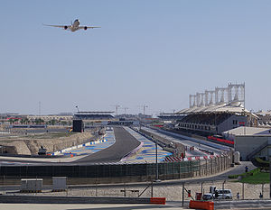 2014 Bahrain Grand Prix - Bahrain International Circuit, where the race was held.