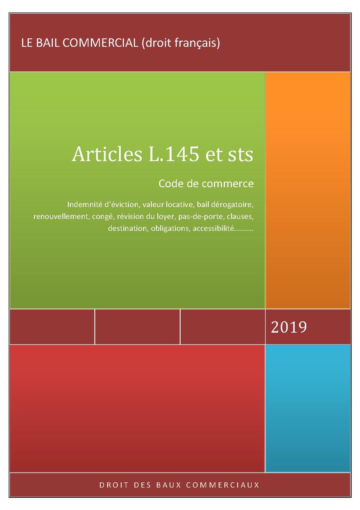 Bail Commercial Droit Francais Wikipedia