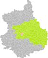 Bailleau-le-Pin (Eure-et-Loir) dans son Arrondissement.png