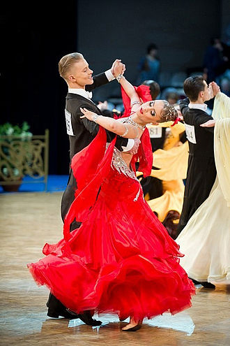 Foxtrot - Dancesport version of foxtrot