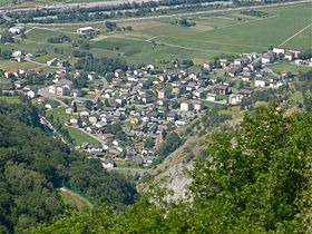 Le village de Baltschieder
