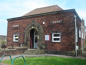 Bamber Bridge - Image: Bamber Bridge Library geograph.org.uk 166306