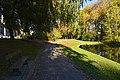 Banc à l'ombre en face de l'étang du Dirbeek (22507712478).jpg