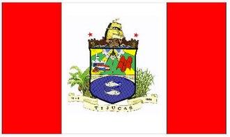 Tijucas - Image: Bandeira tijucas