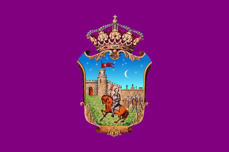 Bandera ciudad Guadalajara, Guadalajara, Castilla-La Mancha, España (original)