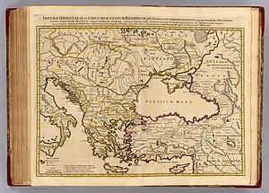 Atlas - Imperii Orientalis et Circumjacentium Regionum by Guillaume Delisle (1742)