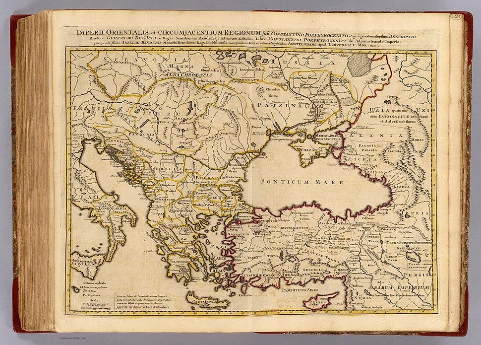 Banduri, Covens et Mortier and Lisle. Imperii Orientalis et Circumjacentium Regionum.1742