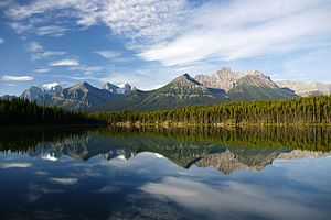 National Parks of Canada - Image: Banff National Park Lake Herbert