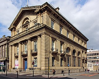 Bank of England Building, Liverpool Historic building in Liverpool, England