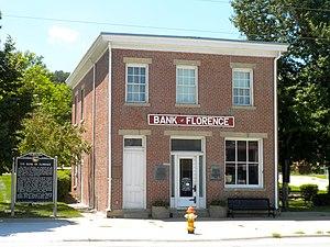 Bank of Florence Museum - Image: Bank of Florence NE