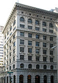 Bank of Italy Building, 552 Montgomery St., San Francisco. From northwest corner of Montgomery and Clay Sts.