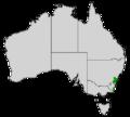 Banksia paludosa map.png