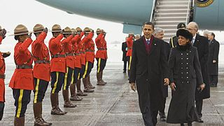 United States presidential visits to Canada