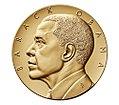 Barack Obama (Second Term) Bronze Medal, 3 Inch, obverse.jpg