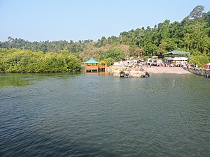 Baratang Island - Image: Baratang Island Middle Strait entry point, Andaman Islands, India
