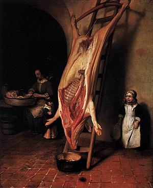 Barent Fabritius - Image: Barent Fabritius The Slaughtered Pig WGA7719