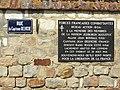 Barenton-sur-Serre (Aisne) plaque commémorative 30 août 1944.JPG