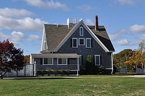 National Register of Historic Places listings in Barnstable, Massachusetts - Image: Barnstable MA Josiah A Ames House