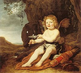 A Boy as Cupid - 1644