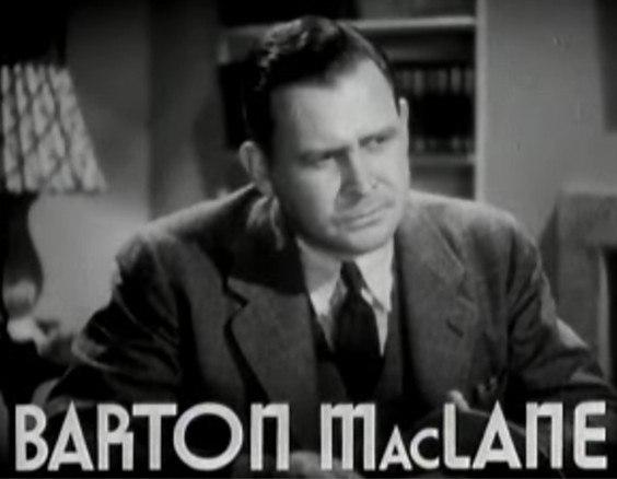 Barton MacLane in Smart Blonde trailer