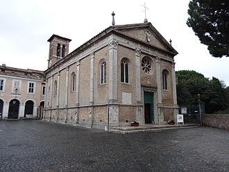 Aurea of Ostia - Santa Aurea church.