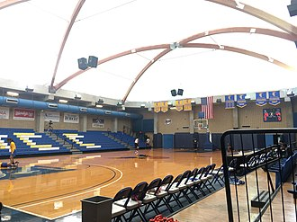 Tallahassee Community College - Basketball court in the TCC Lifetime Sports Complex