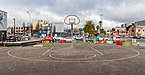 Basketball court at the corner of Manchester St and Lichfield St, Christchurch, New Zealand.jpg