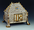 Basle Munster treasury Reliquary shape of a house.jpg