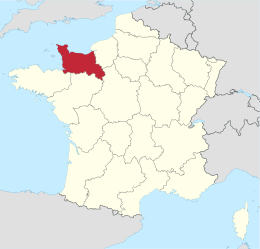 Basse-Normandie in France.svg