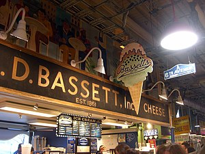 Reading Terminal Market - Bassett's Ice Cream at Reading Terminal Market