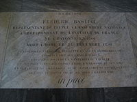 Bastiat Tomb.JPG