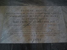 Bastiat Tomb.JPG