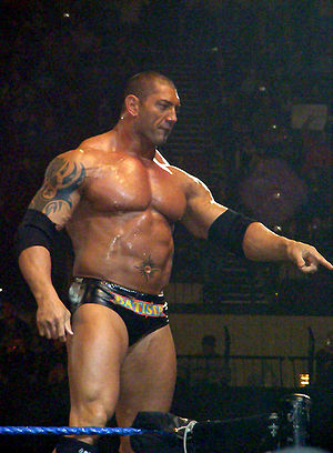 SummerSlam (2008) - Batista, who defeated John Cena in the Raw brand's main event.