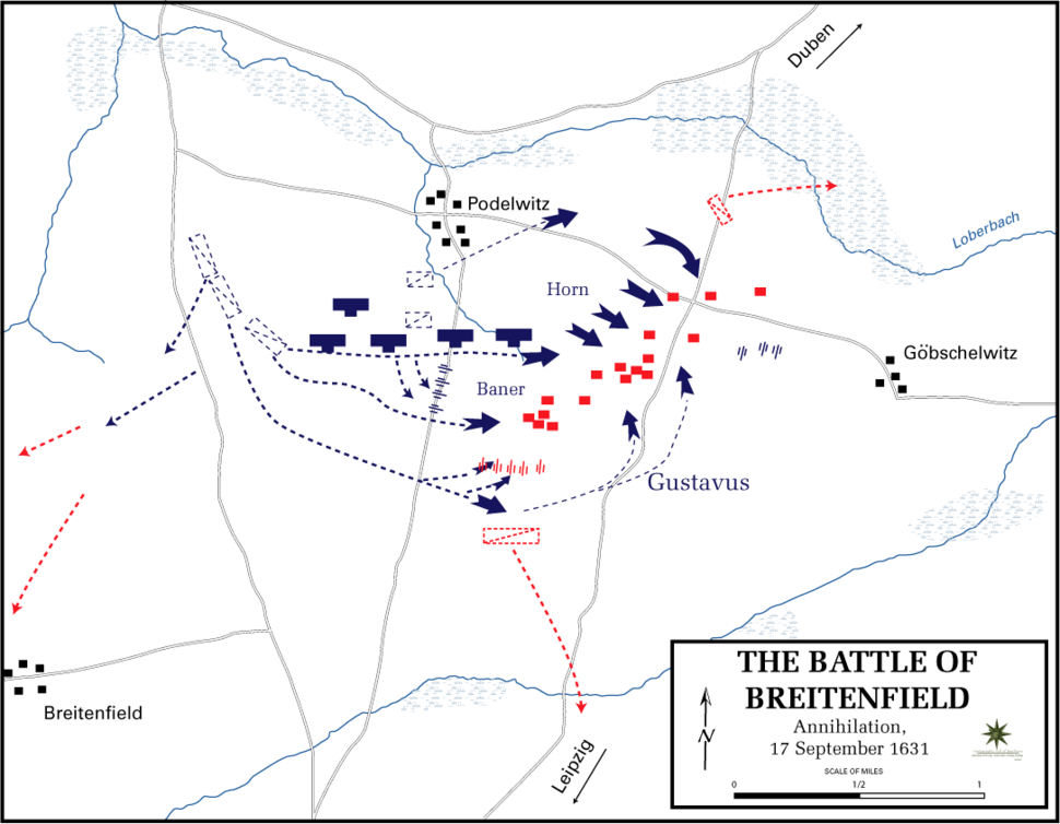 Battle of Breitenfeld - Annihilation, 17 September 1631