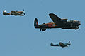Battle of Britain Memorial Flight - Waddington 2013 (9223650545).jpg