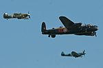 Battle of Britain Memorial Flight - Waddington 2013 (9223650545).jpg