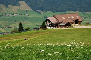 Farm in the Entlebuch region, Switzerland