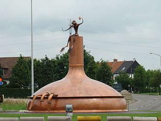 Harelbeke - Image: Bavikhove rond punt